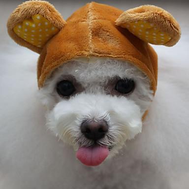 Hond Bandana's & Hoeden Hondenkleding dier Koffie Groen Roze Katoen Kostuum Voor huisdieren Heren Dames Casual/Dagelijks
