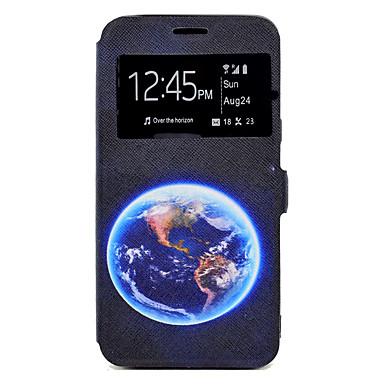 غطاء من أجل Samsung Galaxy J7 (2016) J5 (2016) حامل البطاقات مع حامل نموذج كامل الجسم سماء قاسي جلد اصطناعي إلى J7 (2016) J5 (2016) J5