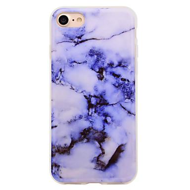 Fall für Apfel iphone 7 7 plus Fallabdeckung Marmormuster imd Prozess tpu materieller weicher Falltelefonkasten für iphone 6s 6 plus se 5s