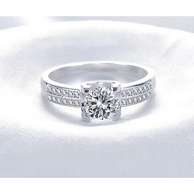 Dames Heren Ring Sieraden Uniek ontwerp Titanium Staal Ronde vorm Sieraden Voor Causaal Toneel