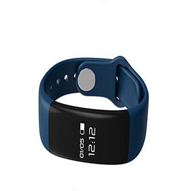 Herrn Smart Watch digital Silikon Band Schwarz Weiß Blau
