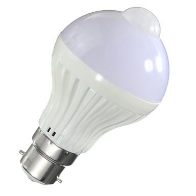 5W 450 lm Slimme LED-lampen A60 (A19) 10 leds SMD 5730 Infrarood Sensor Licht controle Menselijke lichaamsensor Warm wit Koel wit AC85-265