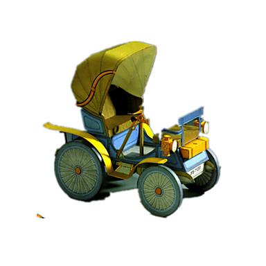لعبة سيارات قطع تركيب3D تركيب أشغال الورق سيارة مواد تأثيث اصنع بنفسك كلاسيكي للأطفال صبيان للجنسين هدية