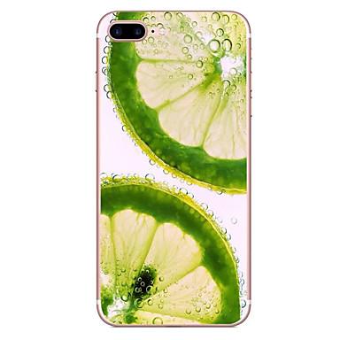 Case voor apple iphone 7 7 plus case hoesje citroen patroon hd geschilderd tpu materiaal zacht geval telefoon hoesje voor iphone 6s 6 plus