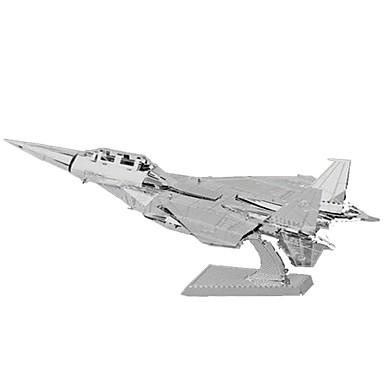 Jucării pentru mașini Puzzle 3D Puzzle Puzzle Metal Dreptunghiular Rezervor Castel Clădire celebru Arhitectură 3D Aluminiu MetalPistol