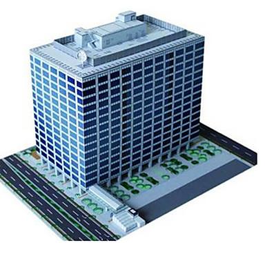 3D - Puzzle Papiermodel Papiermodelle Modellbausätze Berühmte Gebäude Chinesische Architektur Architektur 3D Heimwerken Klassisch Unisex