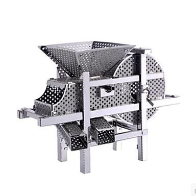 قطع تركيب3D تركيب تركيب معدني مجموعات البناء ألعاب أخرى 3D اصنع بنفسك ألمنيوم معدن غير محدد قطع