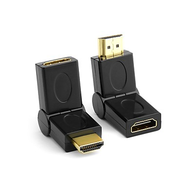 HDMI 1.4 Adapter, HDMI 1.4 to HDMI 1.4 Adapter Mannelijk - Vrouwelijk