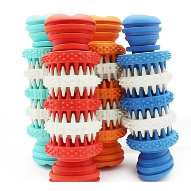 Câine Jucării Cățel Jucării Animale Jucării de Mestecat Jucărie Curățare Dinți Elastic Os Cauciuc Pentru animale de companie