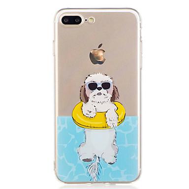 Maska Pentru Apple iPhone X iPhone 8 Model Capac Spate Câțel Moale TPU pentru iPhone X iPhone 8 Plus iPhone 8 iPhone 7 Plus iPhone 7