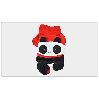 Hund Kostüme Hundekleidung warm halten Tier Rot