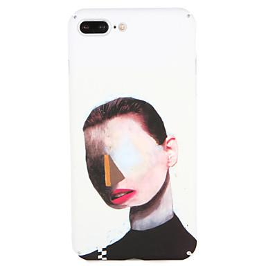 Hoesje voor Apple iPhone 7 plus / 7 cover patroon achterkant hoesje sexy dame harde pc iPhone 6s plus / 6 plus / 6s / 6