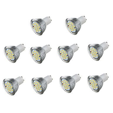 5W 450 lm GU10 LED-spotlampen MR16 16 leds SMD 5730 Decoratief Warm wit Koel wit AC 85-265V