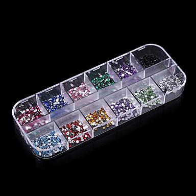 Nagelkunst decoratie Strass parels make-up Cosmetische Nagelkunst ontwerp