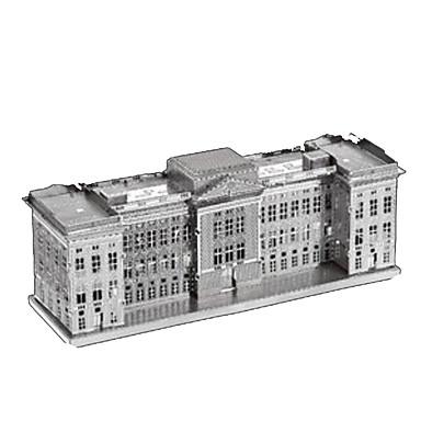 قطع تركيب3D تركيب تركيب معدني مجموعات البناء برج معمارية 3D اصنع بنفسك الفولاذ المقاوم للصدأ كروم الحديد معدن كلاسيكي للجنسين هدية