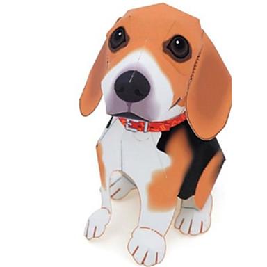 3D-puzzels Bouwplaat Speeltjes Vierkant Honden 3D Dieren DHZ Simulatie Niet gespecificeerd Stuks