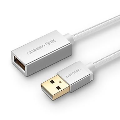 UGREEN USB 2.0 Verlängerungskabel, USB 2.0 to USB 2.0 Verlängerungskabel Male - Female 2.0m (6.5FT)