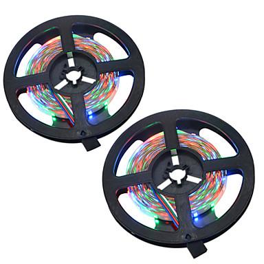 HKV Bare De Becuri LED Rigide 300 LED-uri RGB Ce poate fi Tăiat Schimbare - Culoare Auto- Adeziv DC 12V