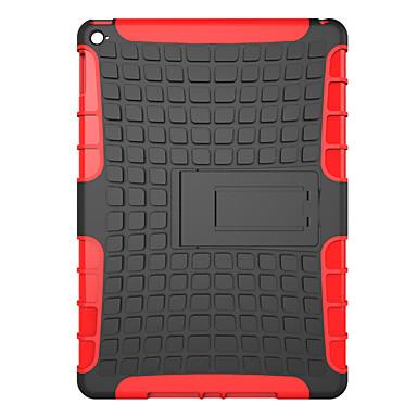 Voor apple ipad pro 12.9 '' case cover schokbestendig met standaard achterkant behuizing vaste kleur harde pc