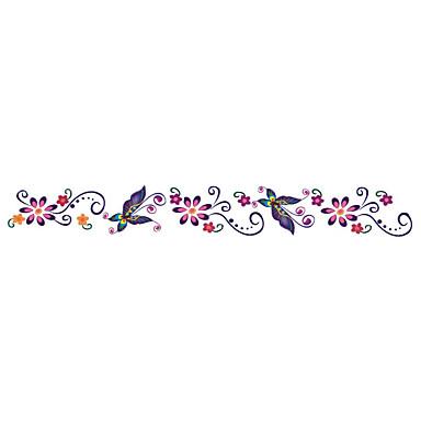 Tattoo Aufkleber Schmuck Serie Tier Serie Blumen Serie Totem Serie Andere Cartoon-Serie Non Toxic Muster Waterproof Karton Damen Herren
