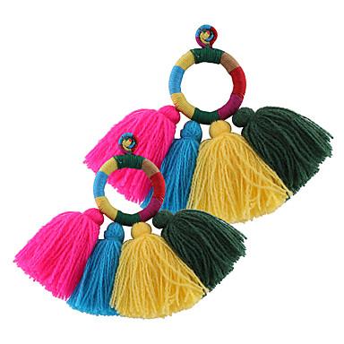 Dames Druppel oorbellen Dangle Oorbellen Basisontwerp Uniek ontwerp Hangende stijl Meetkundig Euramerican Turks Luxe Sieraden Opvallende