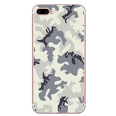 hoesje Voor Apple Patroon Achterkantje Camouflage Kleur Zacht TPU voor iPhone 7 Plus iPhone 7 iPhone 6s Plus iPhone 6 Plus iPhone 6s