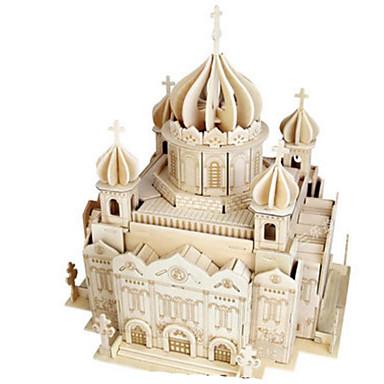 3D - Puzzle Holzpuzzle Spielzeuge Kirche Architektur andere 3D Heimwerken Naturholz keine Angaben Stücke