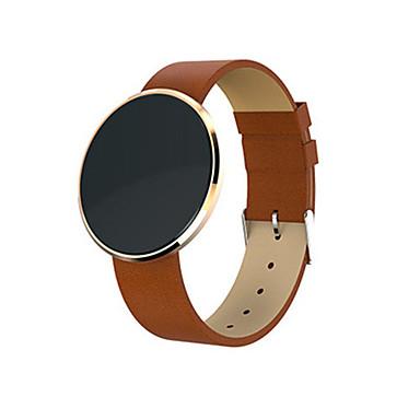 Heren Modieus horloge Digitaal Leer Band Zwart Bruin