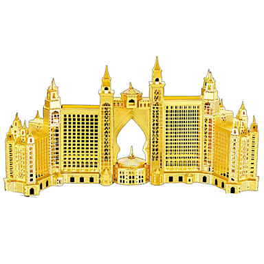 Puzzle 3D Puzzle Metal Μοντέλα και κιτ δόμησης Arhitectură Articole de mobilier Crom MetalPistol Adulți Unisex Cadou