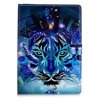 hoesje Voor Apple iPad Mini 4 iPad Mini 3/2/1 Origami Patroon Volledig hoesje dier Hard PU-nahka voor iPad Mini 4 iPad Mini 3/2/1 Apple