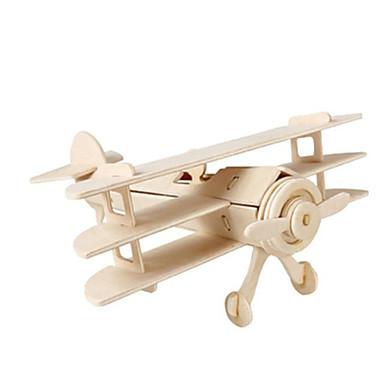 قطع تركيب3D تركيب الخشب نموذج ألعاب طيارة المقاتل بناء مشهور معمارية 3D اصنع بنفسك خشب غير محدد للجنسين قطع