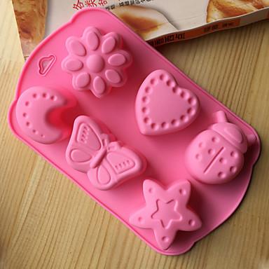 Pieptene Noutate Cupcake Pentru ustensile de gătit tort Instrumentul de coacere Calitate superioară Novelty