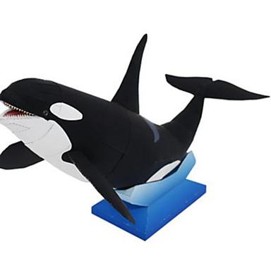 3D-puzzels Bouwplaat Modelbouwsets Vierkant Dieren DHZ Hard Kaart Paper Klassiek Unisex Geschenk