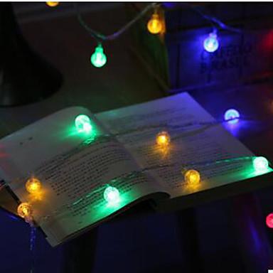 10 متر أدى أضواء سلسلة مع 100led الكرة ac220v عطلة الديكور مصباح أضواء مهرجان الإضاءة في الهواء