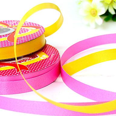 1.2cm breedte 1100cm lengte ballon bandage linten tape cadeau verpakking verjaardag vakantie decoratie willekeurige kleur
