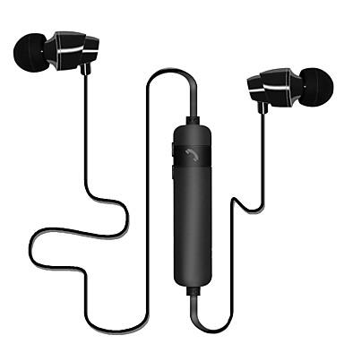 No ouvido Sem Fio Fones Plástico Esporte e Fitness Fone de ouvido Com controle de volume Com Microfone Fone de ouvido