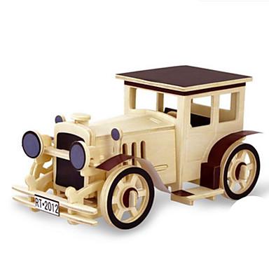 Spielzeug-Autos 3D - Puzzle Holzpuzzle Holzmodell Spielzeuge Dinosaurier Panzer Flugzeug LKW 3D Tiere Heimwerken Holz keine Angaben Stücke