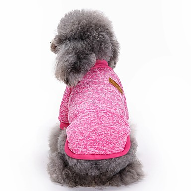 القط الكلب زي الكلب الملابس تأثيري الصلبة زي للحيوانات