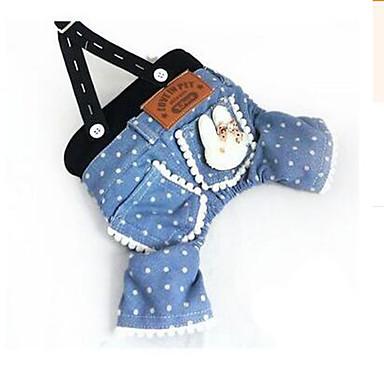 Hund Kleider Hundekleidung Party Lässig/Alltäglich Cartoon Design Blau Kostüm Für Haustiere