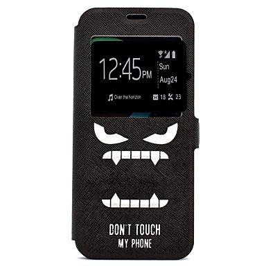 غطاء من أجل Samsung Galaxy S8 Plus S8 حامل البطاقات مع حامل نموذج كامل الجسم جملة / كلمة قاسي جلد اصطناعي إلى S8 S8 Plus S7 edge S7