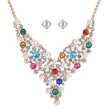 Pentru femei Seturi de bijuterii de mireasă Mai multe pietre Imitație de Perle Modă Nuntă Evenimente/Petrecere Zilnice Pietre sintetice
