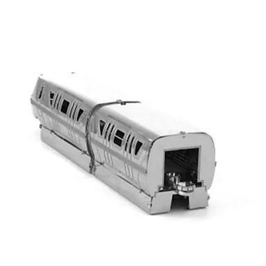 Spielzeug-Autos 3D - Puzzle Holzpuzzle Metallpuzzle Schleppe 3D Heimwerken Edelstahl Chrom Kinder Jungen Unisex Geschenk