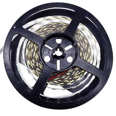 36W Flexible LED-Leuchtstreifen 3350-3450 lm DC12 V 5 m 1200 Leds Warmweiß Weiß
