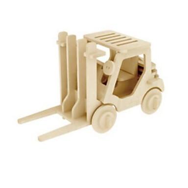 Robotime Puzzle 3D Puzzle Modele de Lemn Camion Leu 3D Reparații Lemn Lemn natural Unisex Cadou