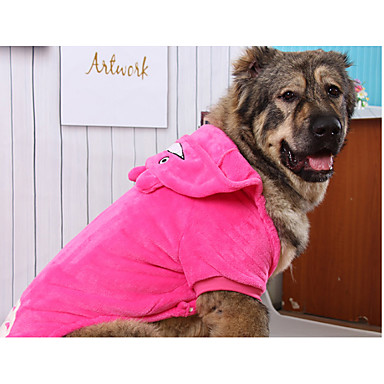 Câine Hanorace cu Glugă Îmbrăcăminte Câini Keep Warm Desene Animate Costume Pentru animale de companie