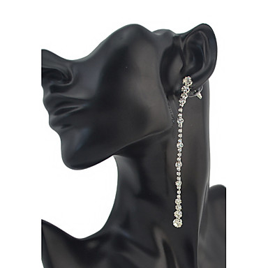 Dames Druppel oorbellen Bergkristal Gepersonaliseerde Luxe Uniek ontwerp Hangende stijl Riipus Klassiek Vintage Tekojalokivi Standaard
