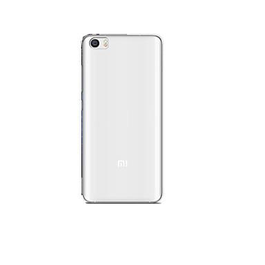 Voor xiaomi mi 5 case cover transparante achterhoes case transparante zachte siliconen