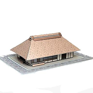 3D - Puzzle Papiermodelle Quadratisch Berühmte Gebäude Haus Architektur 3D Heimwerken Hartkartonpapier Alle Altersgruppen