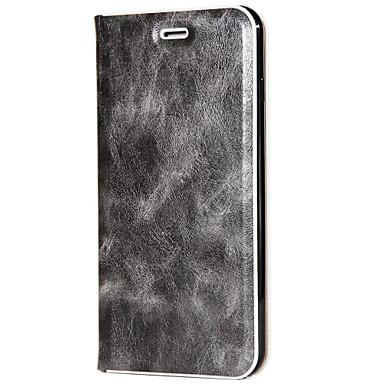 غطاء من أجل Samsung Galaxy S8 Plus S8 حامل البطاقات مع حامل تصفيح قلب غطاء كامل للجسم سادة قاسي جلد PU إلى S8 Plus S8 S7 edge S7