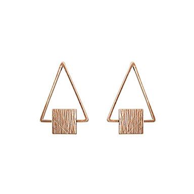 Pentru femei Cercei Stud Bijuterii Design Basic Design Unic Geometric Strat dublu Vintage Bohemia Stil Personalizat Hipoalergenic